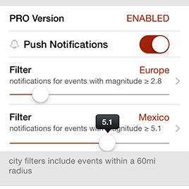 Push Notifications Filters